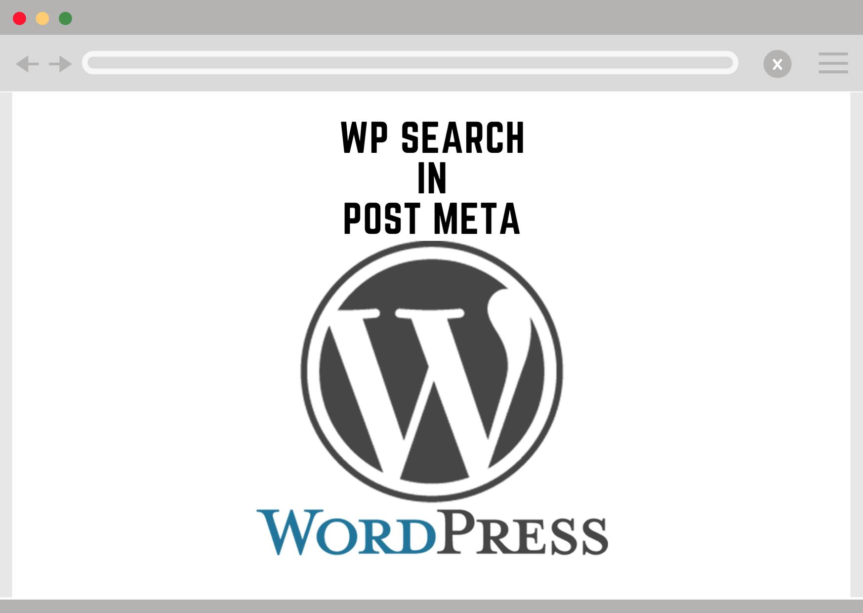 Wordpress Search in Post Meta