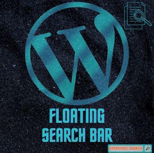 Floating Search Bar Wordpress Plugin
