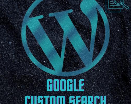 Google Custom Search for Wordpress