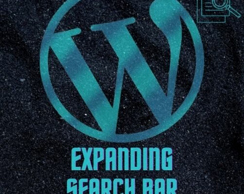 Expanding Search Bar Wordpress Plugin
