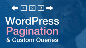 Wordpress Pagination in Search