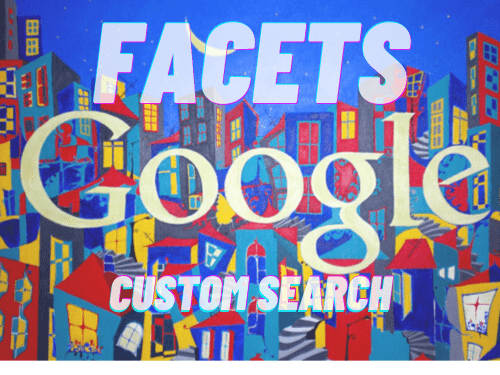 Google Custom Search Facets