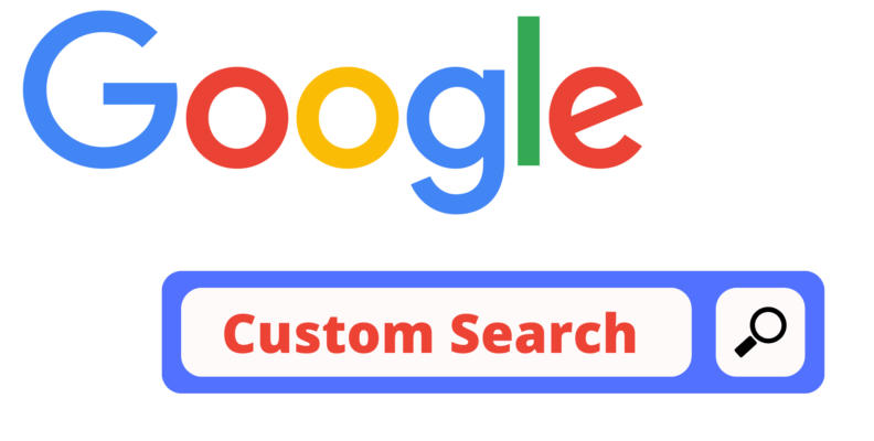 How to add filters to google custom search