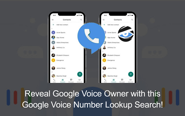 search google voice numbers