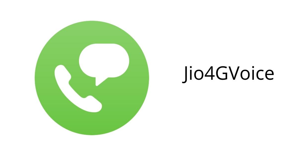 jio4voice