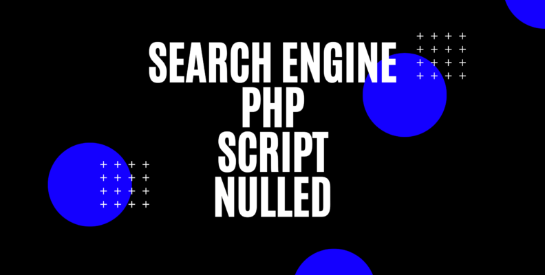 search engine php script nulled