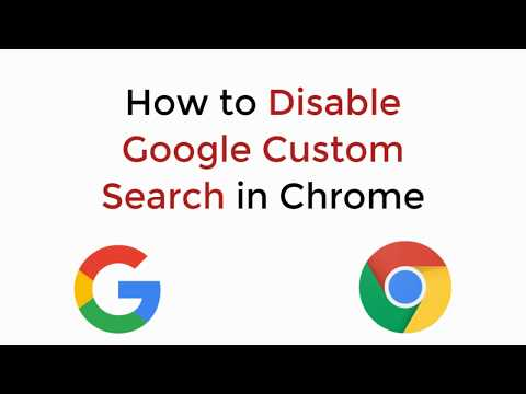 turn off google custom search