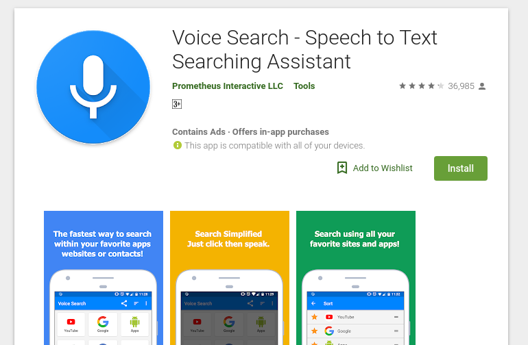 google voice search apk mirror