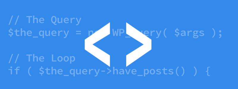 WP QUERY WordPress Feature