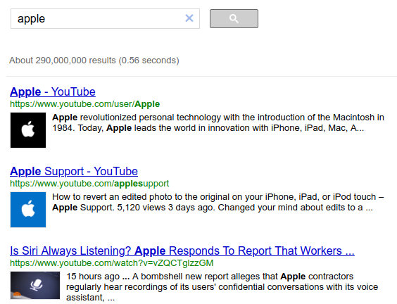 google site search- gcs
