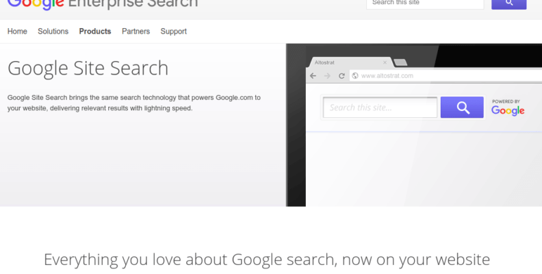 Google Custom Search Remove Branding