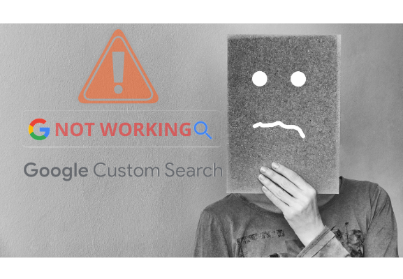Google Custom Search Stopped Working