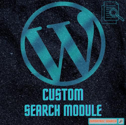 Custom Search Module Wordpress