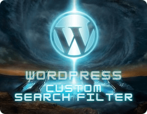 Custom Search Filter in Wordpress