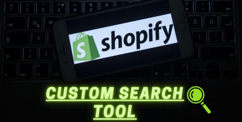 Shopify Custom Search Tool