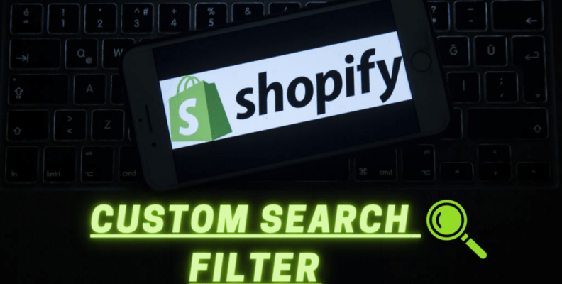 Shopify Custom Search Filter