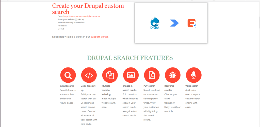 Custom Search in Drupal
