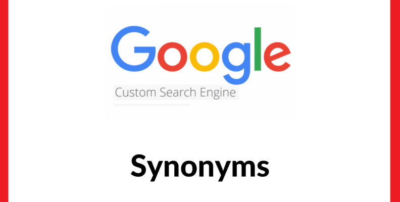 Google Custom Search Synonyms