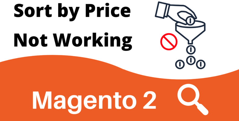 Magento 2 Sort by Price Not Working
