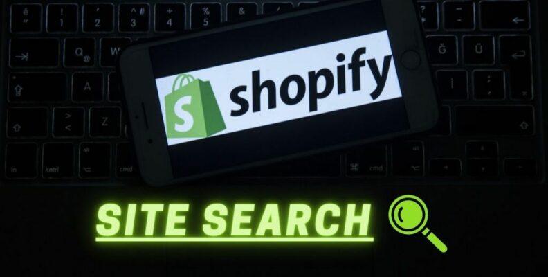 Shopify Site Search Box