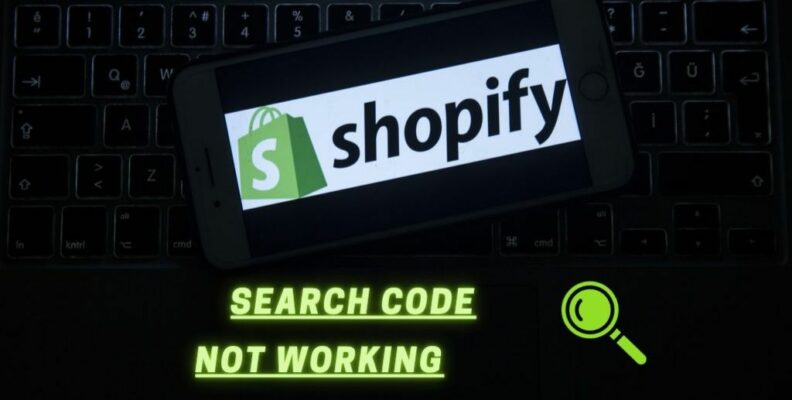 Shopify Search Code not Working