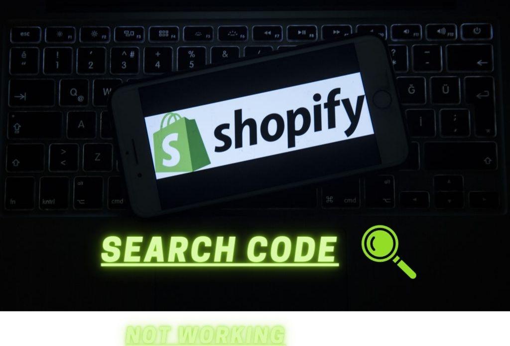 Shopify Search Code