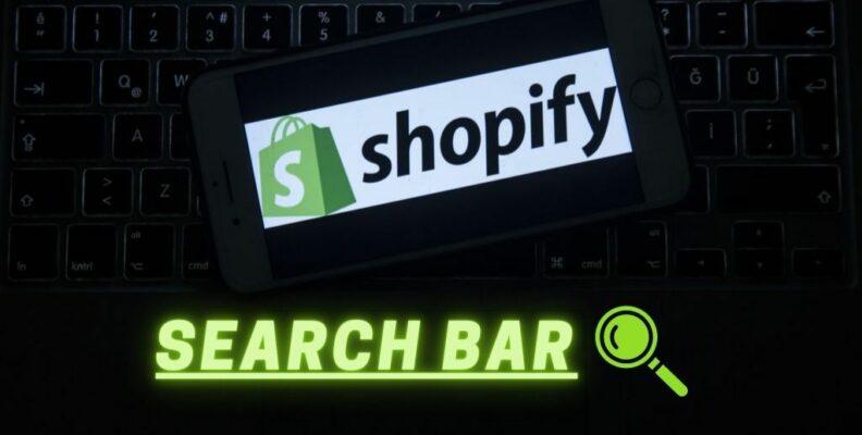 Shopify search bar