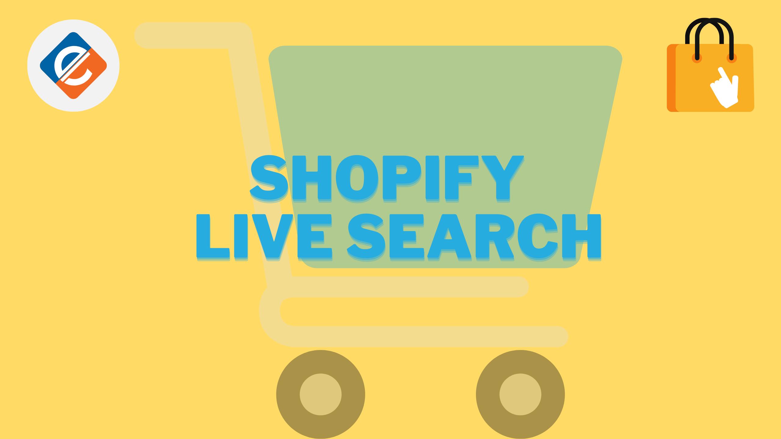 Shopify Live Search