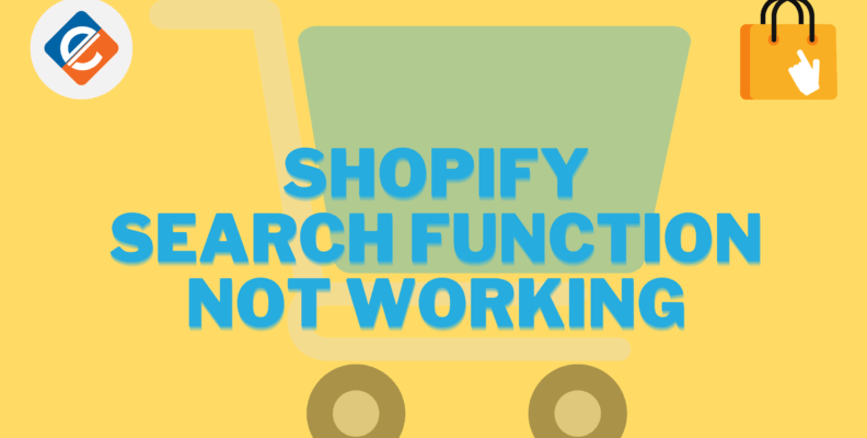 Shopify Search Function not Working