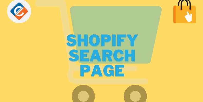 Shopify Search Page