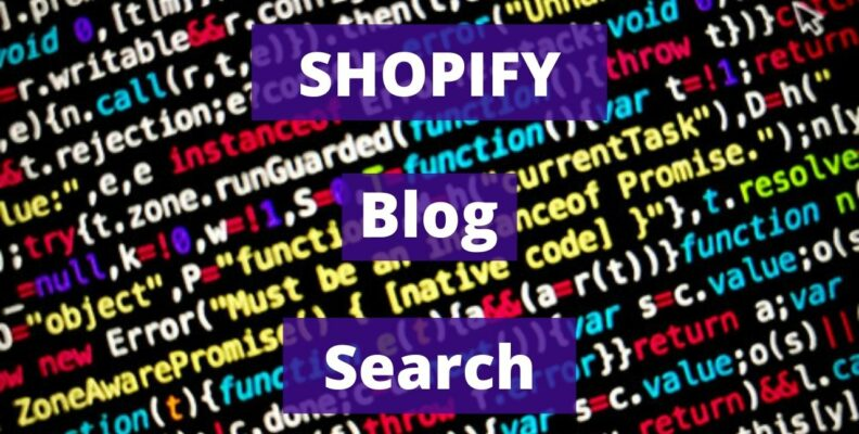 SHOPIFY Blog Search