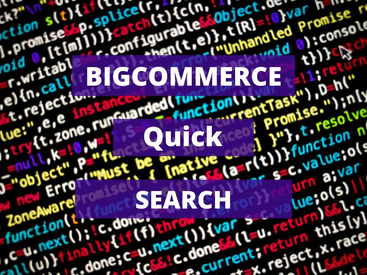 Bigcommerce Quick Search