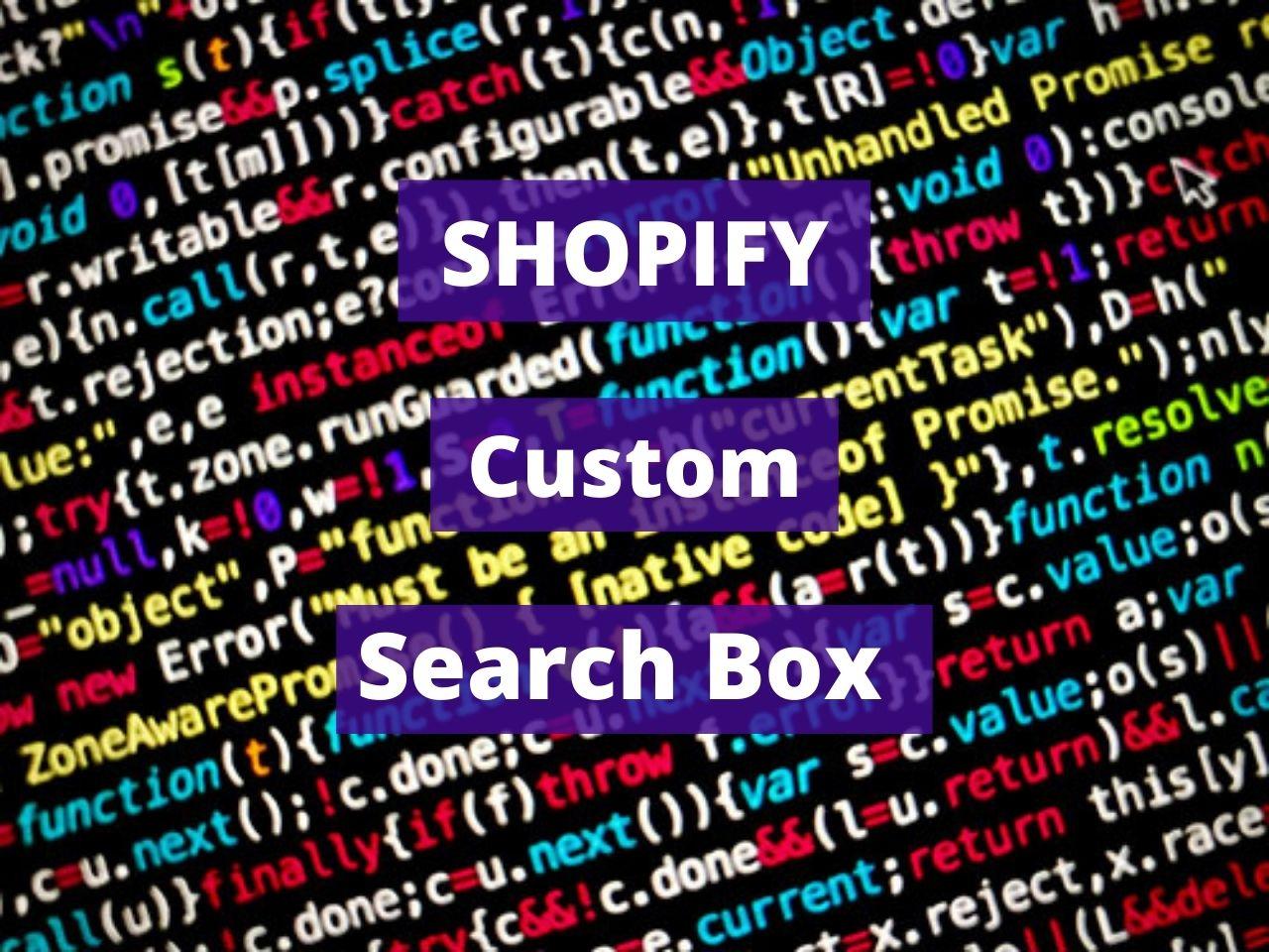 Google Custom Search Box