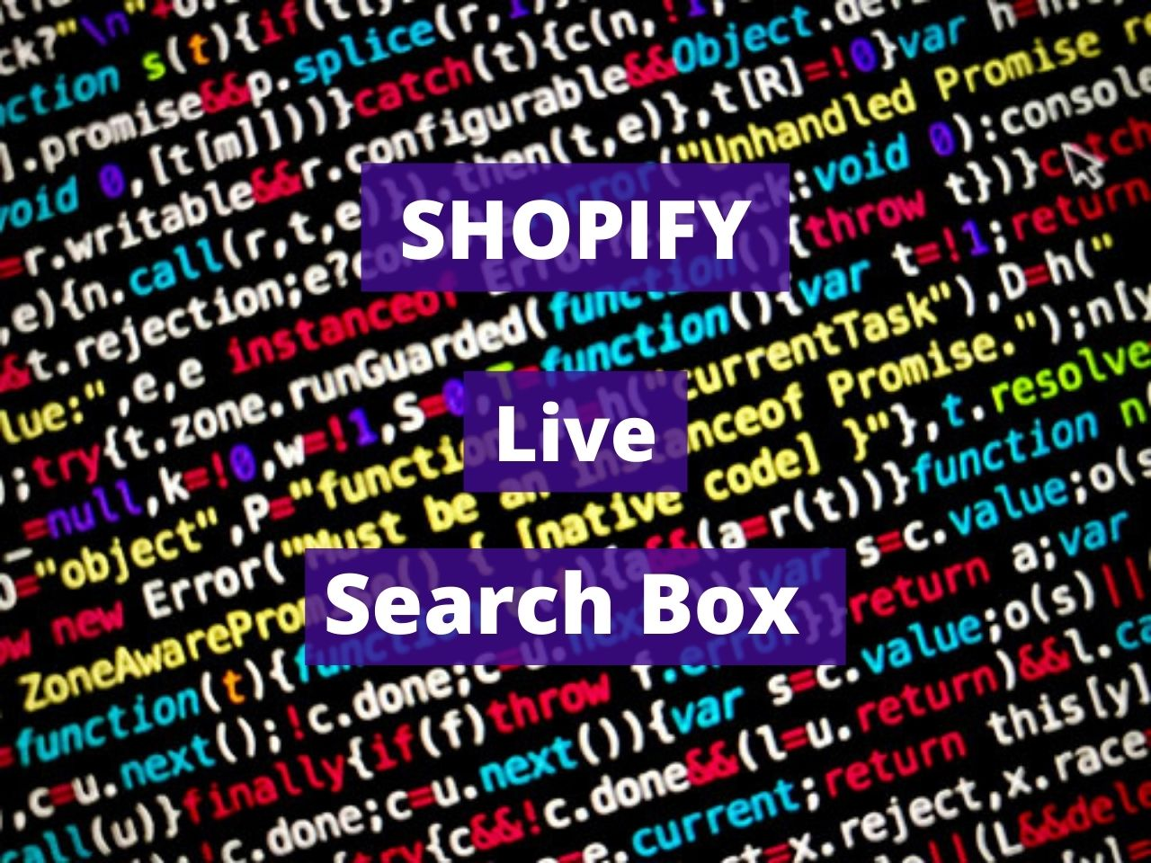Shopify Live Search Box