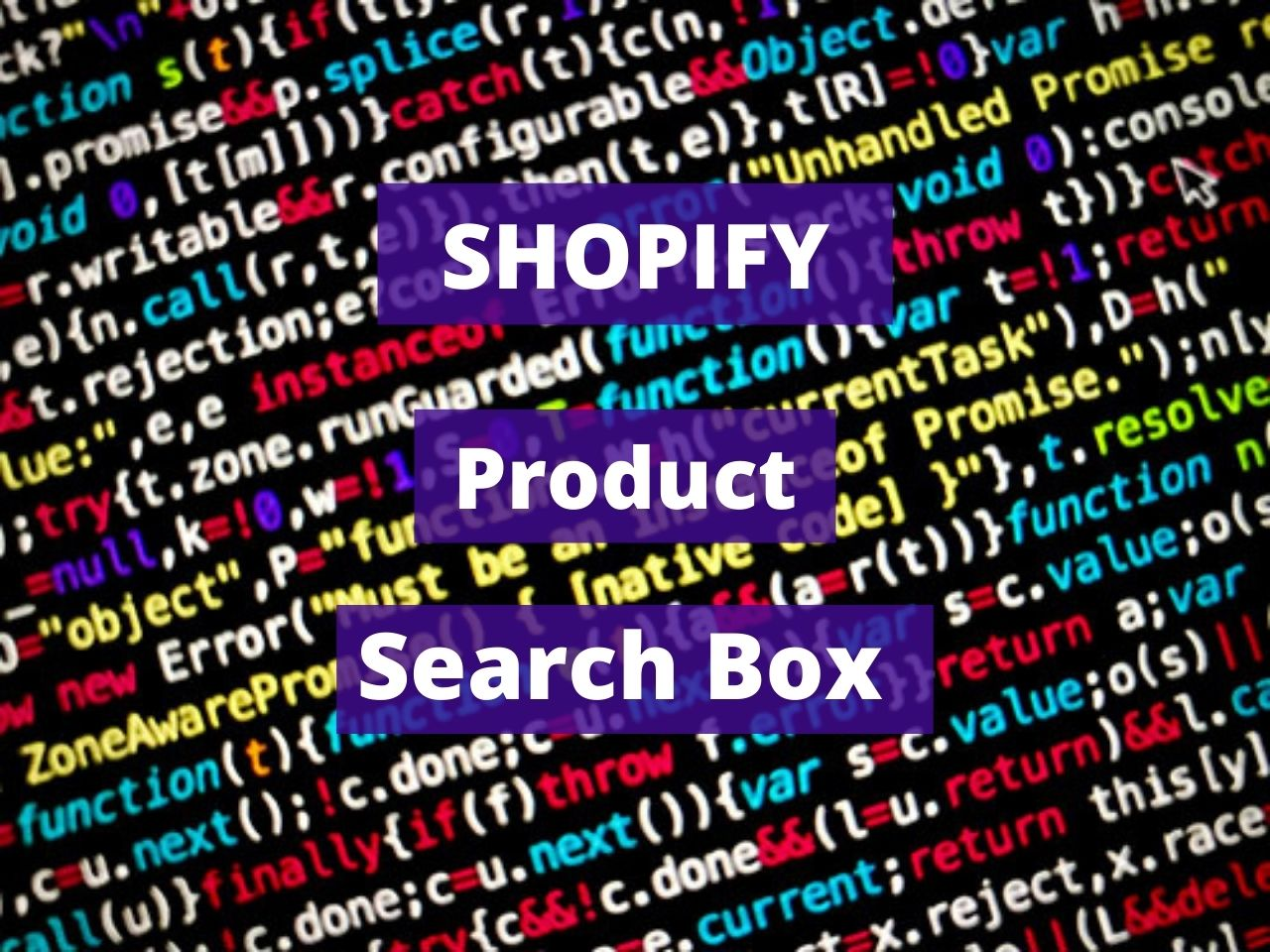 Shopify Product Search Box
