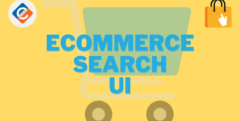 ecommerce search UI