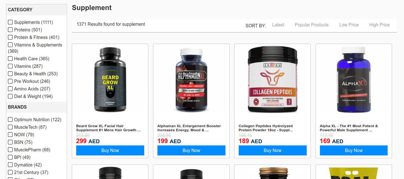 eCommerce Search Suggestions