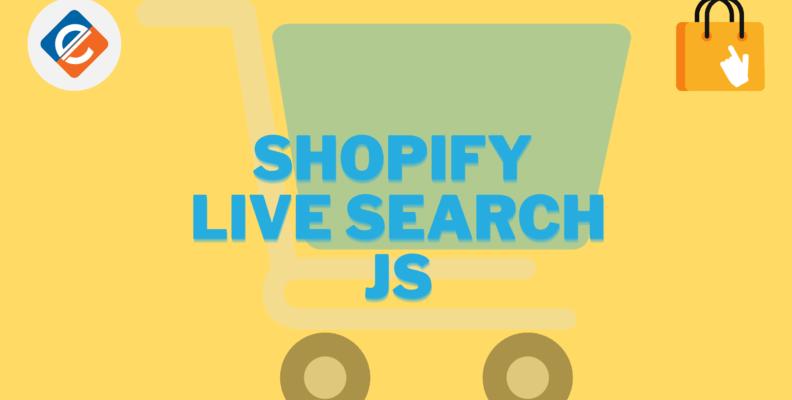 shopify live search js