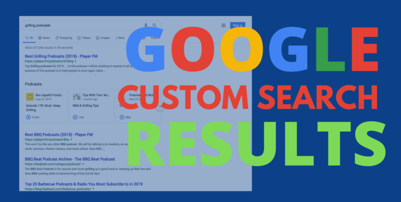 Google Custom Search More than 100 Results View