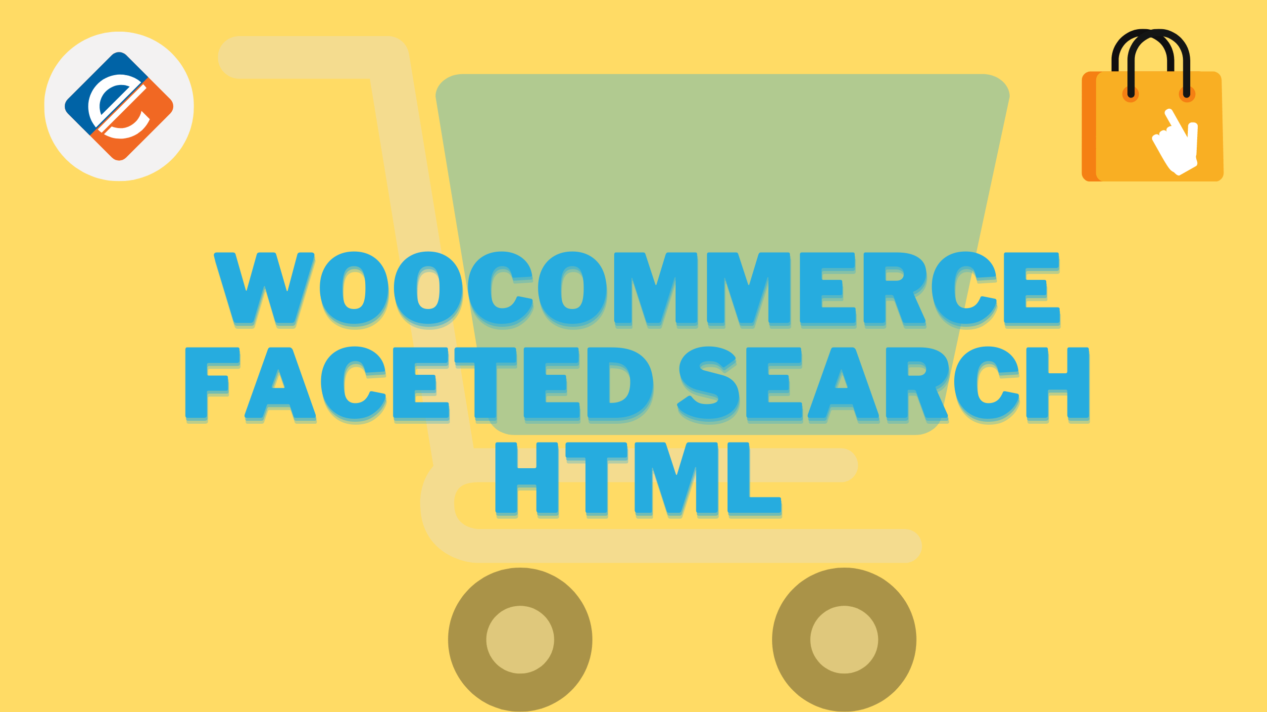 Woocommerce Faceted Search HTML