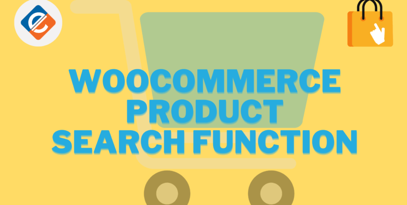 Woocommerce Product Search Function
