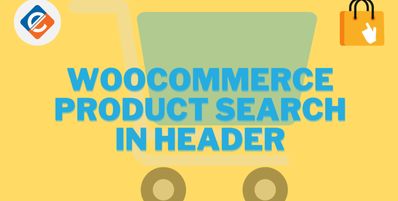 Woocommerce Product Search in Header
