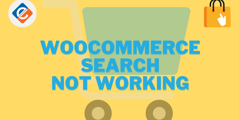 Woocommerce Search Not Working