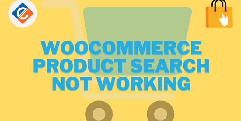 Woocommerce product search not working