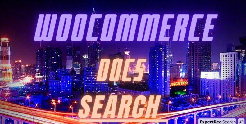 Woocommerce Docs Search