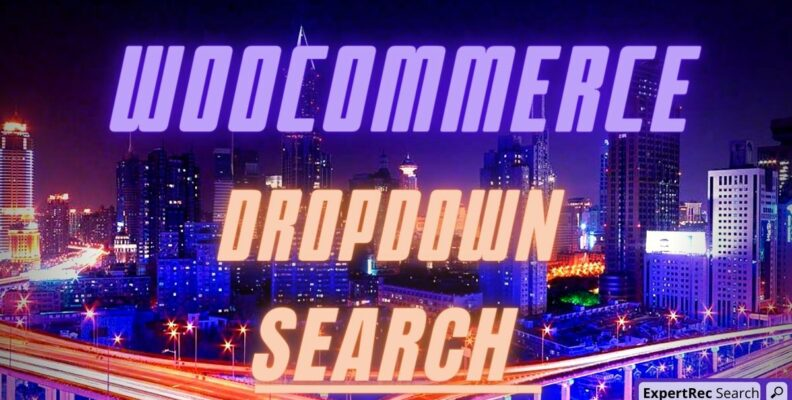 Woocommerce Dropdown Search