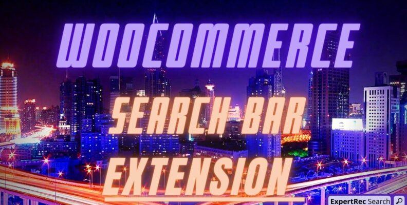 Search Bar Woocommerce Extension