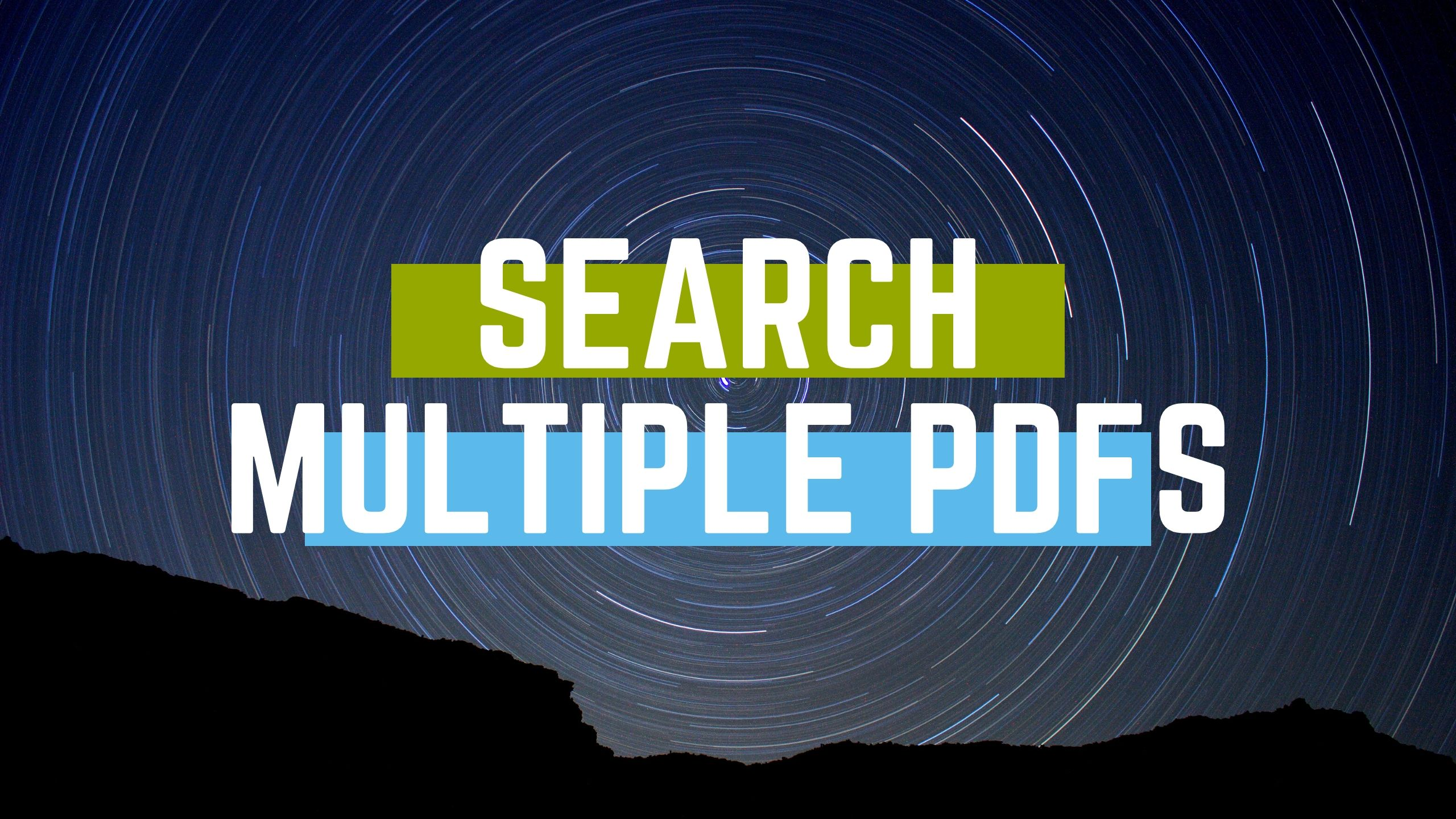 search multiple pdfs