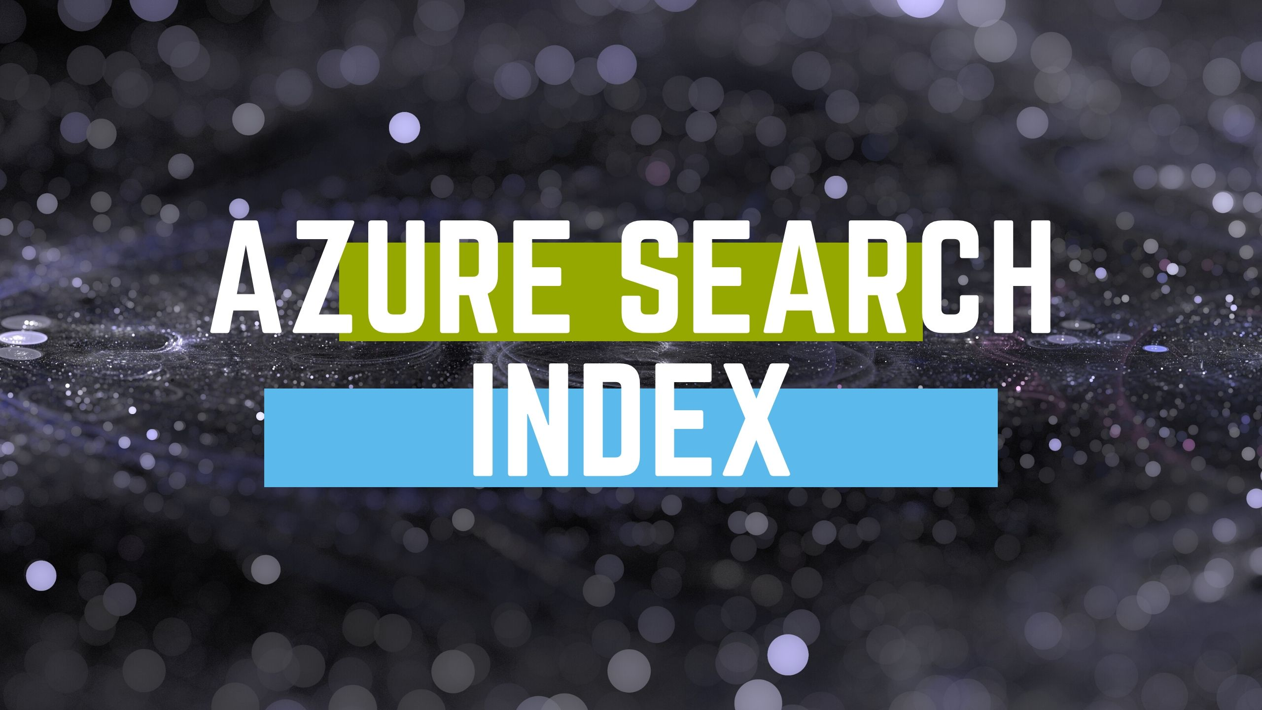 Azure search index