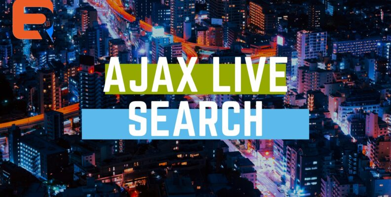 Ajax live search